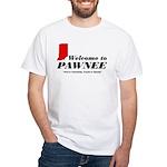 Welcome to Pawnee White T-Shirt