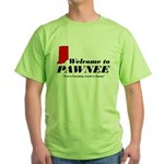 Welcome to Pawnee Green T-Shirt