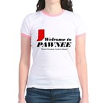 Welcome to Pawnee Jr. Ringer T-Shirt