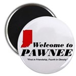 """Welcome to Pawnee 2.25"""" Magnet (10 pack)"""