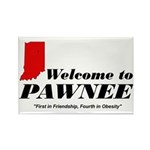 Welcome to Pawnee Rectangle Magnet (10 pack)
