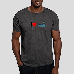 Nantucket MA - I lLove Design Dark T-Shirt
