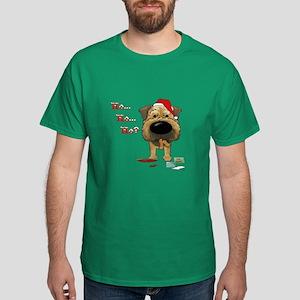 Border Terrier Santa Dark T-Shirt