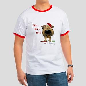 Border Terrier Santa Ringer T