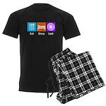 Eat Sleep Lost Men's Dark Pajamas
