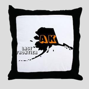 AK LAST FRONTIER Throw Pillow