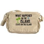 Happened on Island Messenger Bag