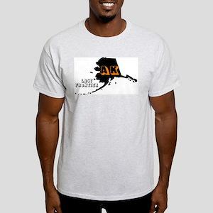 AK LAST FRONTIER Ash Grey T-Shirt