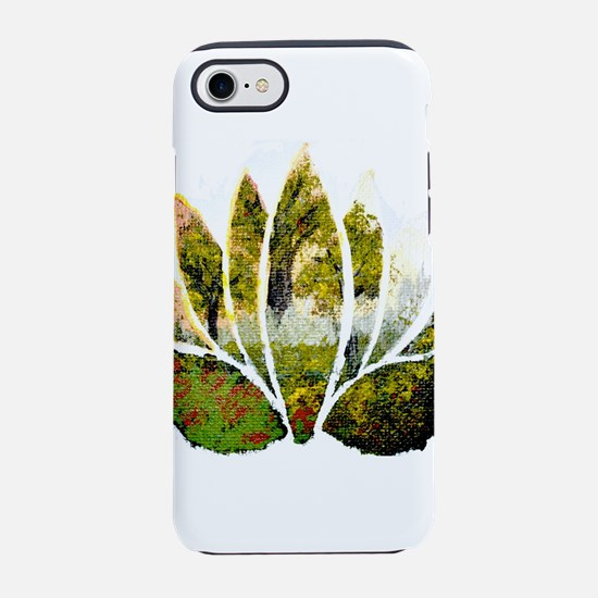 Lotus Summer Forest iPhone 7 Tough Case