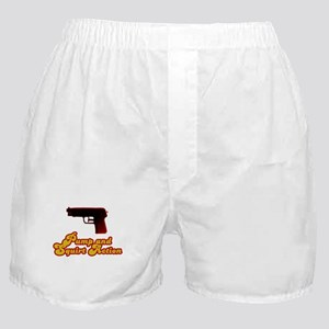 Pump and Squirt Action Boxer Shorts