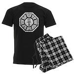 Dharma Black Ankh Men's Dark Pajamas