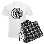 Dharma Black Ankh Men's Light Pajamas