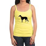 Christmas or Holiday Greyhound Silhouette Jr. Spag