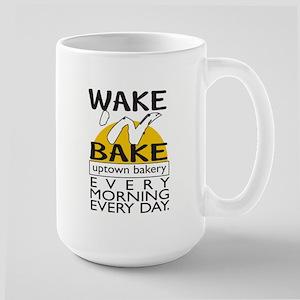 'Wake n Bake'  Large Mug