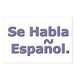 Se Habla Espanol. Postcards (Package of 8)
