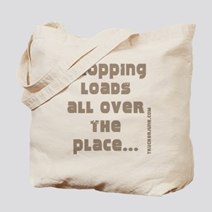Dropping Loads All Over The P Tote Bag
