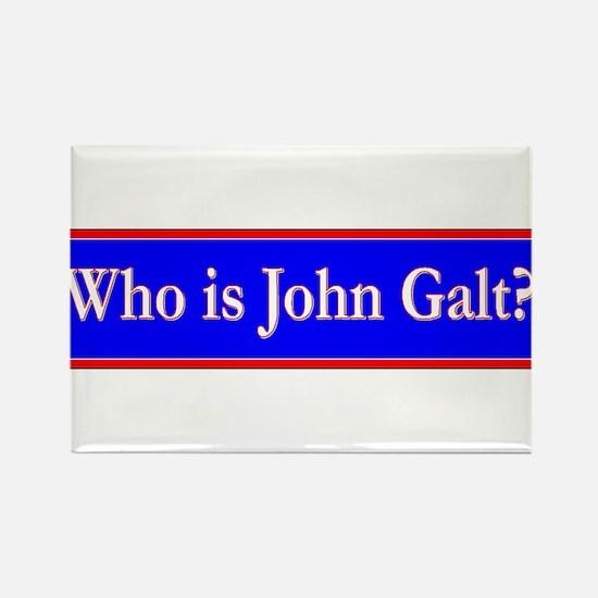 John Galt Rectangle Magnet