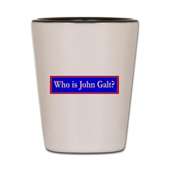 John Galt Shot Glass
