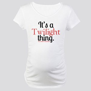 Twilight Thing Maternity T-Shirt
