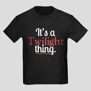 Twilight Thing Kids Dark T-Shirt
