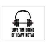 sound of Heavy metal Small Poster