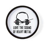 sound of Heavy metal Wall Clock