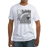 Desserted Streets Fitted T-Shirt