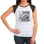 Desserted Streets Women's Cap Sleeve T-Shirt