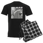 Desserted Streets (no text) Men's Dark Pajamas