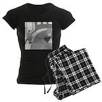 Desserted Streets (no text) Women's Dark Pajamas