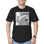 Desserted Streets (no text) Men's Fitted T-Shirt (