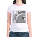 Desserted Streets (no text) Jr. Ringer T-Shirt