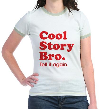 Cool Story Bro Jr. Ringer T-Shirt