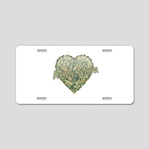 Army Mom Aluminum License Plate