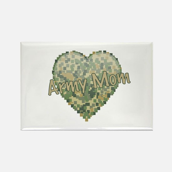 Army Mom Rectangle Magnet