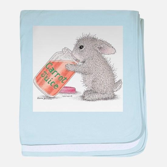 Carrot Juice - baby blanket