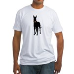 Christmas or Holiday Great Dane Silhouette Fitted
