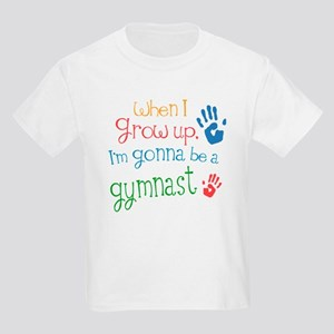 1b224b3f40e2 Kids Future Gymnast Kids Light T-Shirt