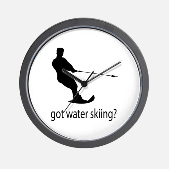 got water skiing? Wall Clock