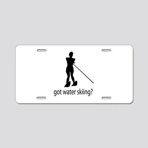 got water skiing? Aluminum License Plate