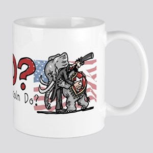 What Would Lincoln Do Mug