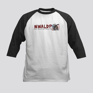What Would Lincoln Do Kids Baseball Jersey