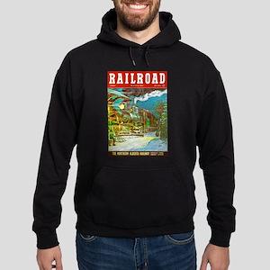 Railroad Magazine Cover 2 Hoodie (dark)