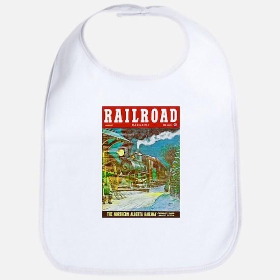 Railroad Magazine Cover 2 Bib