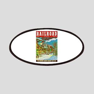 Railroad Magazine Cover 2 Patches