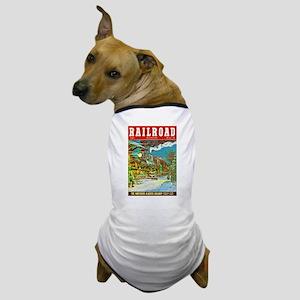 Railroad Magazine Cover 2 Dog T-Shirt