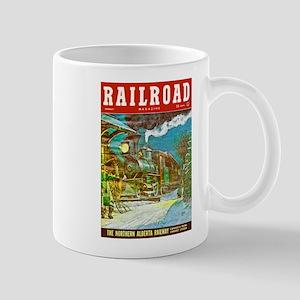 Railroad Magazine Cover 2 Mug