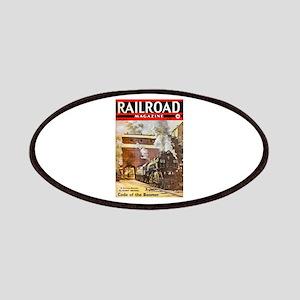Railroad Magazine Cover 3 Patches
