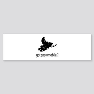 got snowmobile? Sticker (Bumper)