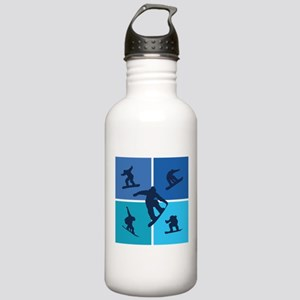 Nice various snowboarding Stainless Water Bottle 1